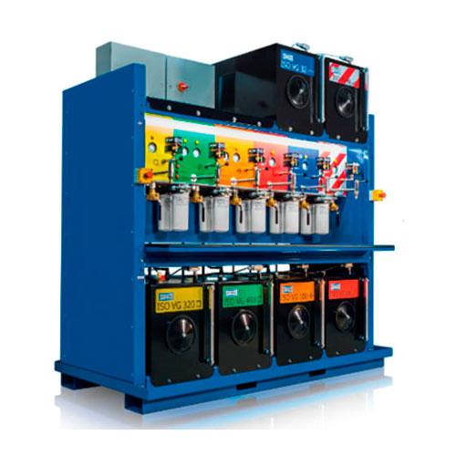 Sistema-de-almacenamiento-y-dispensador-de-aceite-con-elementos-filtrantes-HY-PRO